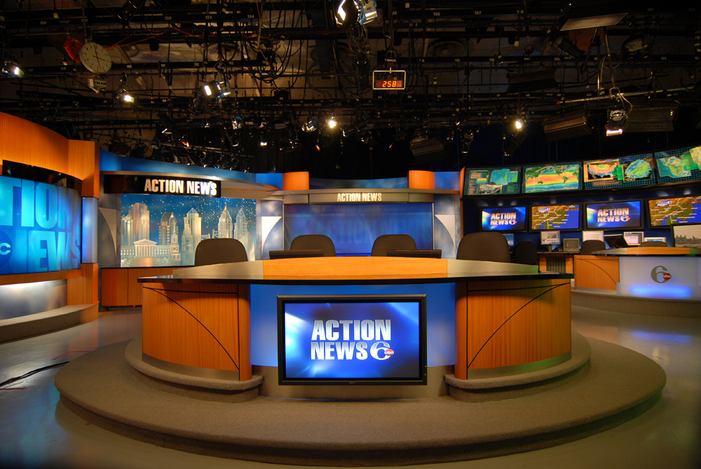 The Gallery For --> News Studio Set Design